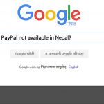 paypal not in nepal