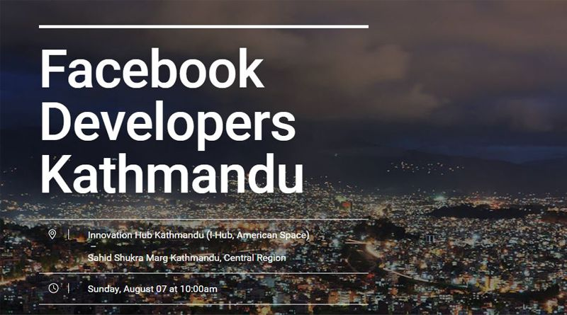 Facebook developers meetup kathmandu
